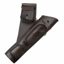 OMP Leather Archery Arrow Hip Quiver LH **Shown as RH**