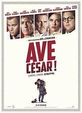 Affiche 120x160cm AVE CÉSAR /HAIL CAESAR 2016 Joel & Ethan Coen - Clooney NEUVE