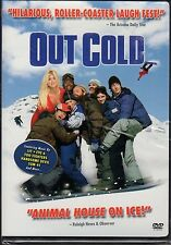 OUT COLD-JASON LONDON in an Animal House on Ice, X-games-style snowboard action