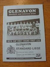 18/09/1979 Glenavon v Standard Liege [UEFA Cup]  (Item has no apparent faults).