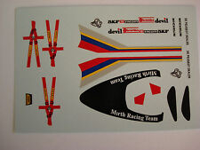 DECALS KIT 1/43 PEUGEOT 905 SPIDER LE MANS 1992 DECALS