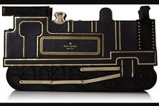NWT Kate Spade NY All Aboard Train Clutch Bag Transcontinental Railroad
