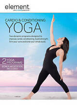 Element: Cardio & Conditioning Yoga New DVD! Ships Fast!