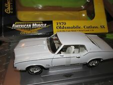 1970 Oldsmobile CUTLASS SX WHITE AMERICAN MUSCLE ELITE 1/18 ltd edition ERTL