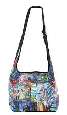 Disney Princess Belle & Beauty And The Beast Stained Glass Hobo Tote Bag Purse