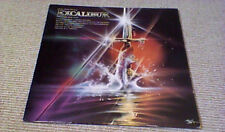 RICHARD WAGNER CARL ORFF EXCALIBUR OST 1st ISLAND UK LP A3/B4 1981 BOB PEAK