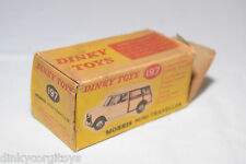 DINKY TOYS 197 MORRIS MINI TRAVELLER ORIGINAL EMPTY BOX GOOD CONDITION