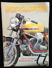 R8   MOTOCLASSICHE GENNAIO 1993 - V7 UN MULO PUROSANGUE
