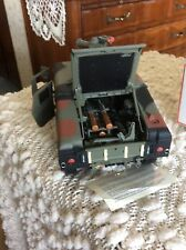 FRANKLIN MINT DIECAST HUMVEE   ** NEW IN BOX **   SCALE 1:24