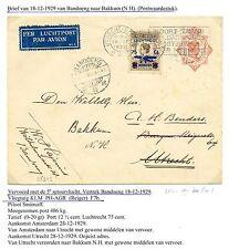 NED INDIE  1929-12-18  CV  BANDUNG-BAKKUM   LP#4 M=KW €100     LEES!! F/VF