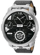 Diesel Machinus Black Dial Rose Gold Case Quartz Men's Watch DZ7380 New Ori
