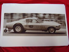 1967 ? FORD MUSTANG MALCO GASSER RACE CAR  11 X 17  PHOTO  PICTURE