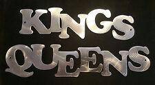 Kings and Queens sign garage restroom bathroom men women bar restaurant