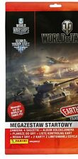 Panini World of Tanks EARTH RUMBLE starterpack: album, 2 limited edition cards