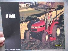 Vintage Original Case International 1100 Series Compact Tractors flyer