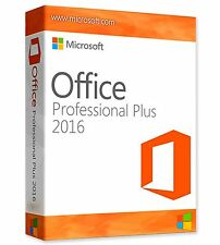 MS Microsoft Office Professional Plus 2016 Digital Key e scaricare LINK 1pc