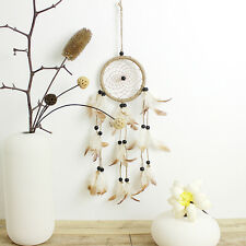 Gift Handmade Dream Catcher Beaded Feathers Wall Home Hanging Decoration Craft