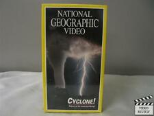 National Geographic Video - Cyclone! VHS