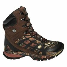 NIB MENS WATERPROOF BUSHNELL STALK HI HUNTING BOOTS - 12 - MOSSY OAK CAMO