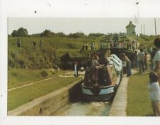 Foxton Locks Market Harborough Old Canal Postcard 603a