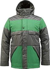 BURTON Men's TWC WARM AND FRIENDLY Snow Jacket - JetPack/TreeFrog - XLarge - NWT