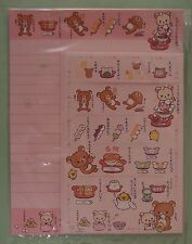 San-X Letter Sets Rilakkuma Japan Famous Food