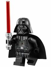 LEGO STAR WARS MINIFIGURE DARTH VADER NECK PIECE NEW HELMET RED LIGHTSABER 75093