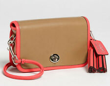 Coach Legacy Leather Penny Shoulder Purse Crossbody Handbag 22406