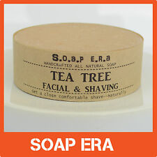 1xTeatree facial shaving soap -all natural handmade vegan soap-Aussie made