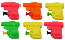 6 Mini Water Guns - Pistols Pinata Toy Loot/Party Bag Fillers Wedding/Kids Plast