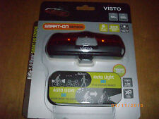 VISTO RIFLE 5.0 REAR SMART-ON SENSOR Bicyle LED Light SEALED compact NEW!