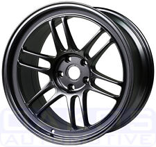 "ENKEI RPF1 Wheels 17x8"" 5x100 45mm Offset Gunmetal WRX BRZ FR-S Rim 3797808045GM"