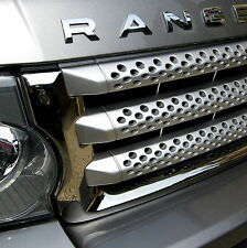CHROME front GRILLE surround trim for Range Rover Sport HSE supercharged grill