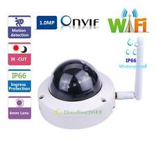 HD 720P Wireless IP Security Camera Outdoor IP66 Waterproof IR-CUT WIFI 8~16kbps