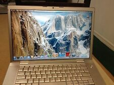 "APPLE MACBOOK PRO 15.4"" INTEL DUAL CORE MICROSOFT OFFICE MAC OS X WEBCAM LAPTOP"