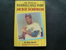The Official Baseball Hall of Fame Story of Jackie Robinson Book 1990 # 42