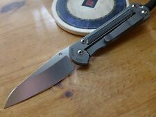 Chris Reeve Knives Small Sebenza 21 Insingo S35VN - Micarta Inlay - LEFT HANDED