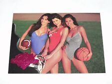 1994 Benchwarmer BROOKE BURKE Lora Peterson APRIL GAUTHIER Triple Threat Pink SP
