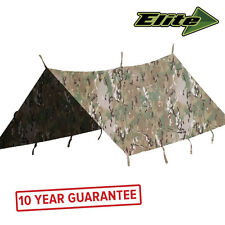 NEW Elite Evolution Waterproof Military Army Cadet Basha Shelter Tent MTP 2 x 2m