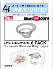 6 Pack Action Wobble Piece for use w/ SHAKERS SERIES - ART IMPRESSIONS, NEW 4265