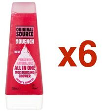 6 x 250ml Original Source Cherry Jojoba Oil Moisturising Shower Gel