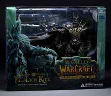 22CM World of WARCRAFT WOW ARTHAS MENETHIL LICH KING DELUXE ACTION FIGURE STATUE