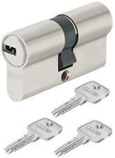 Abus EC550 30/40 N&G incl.3 Schlüssel Türzylinder Schließzylinder Profilzylinder