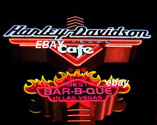 Las Vegas HARLEY DAVIDSON Cafe NEON SIGN PHOTO 8x10