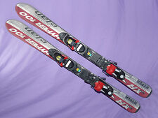 Elan Hyper XRJ 100cm Kids Skis SALOMON 305 Bindings w/ adjustable toes & heels ✻