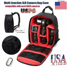 Waterproof Camera Backpack Bag Lens Case Rucksack For DSLR For Canon For Nikon