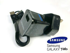 "SAMSUNG WALL MAINS CHARGER USB CABLE FOR 7.0 8.9 10.1 "" GALAXY TAB 2 TABLET NOTE"