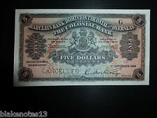 Grenada Lot P-S101s 1926 5 Dollars Unc Barclays Bank Specimen Add Collection