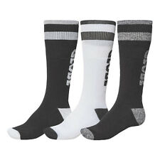 GLOBE NEW Men's 3 Pack Long Socks Sports/Skate Black/White BNWT