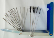 18 in 1 Carburetor Carbon Deposit Jet Cleaning Needles + Brushes Tool For Yamaha
